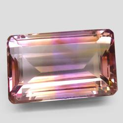 Sublime 14.35ct unheated Bolivian Ametrine