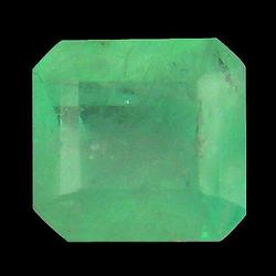 Top vivid green 1.33ct real Colombian Emerald