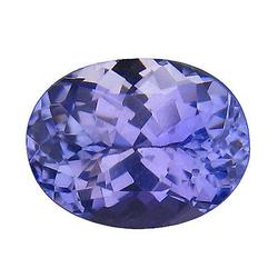 Dazzling 1.56ct flawless violet blue Tanzanite