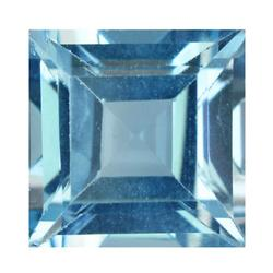 Breath taking 4.46ct princess cut VVS Topaz