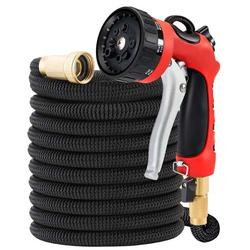 8 Pattern Heavy Duty Spray Nozzle Expandable Water Hose