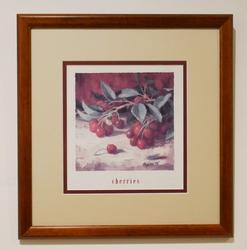 Beautiful Photograveru of Cherries Decorative art