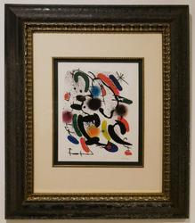AfterJoan Miro Limited Edition Photo Chromolithograph