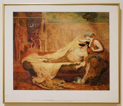 The Dream of Sardanapalus Offset Lithograph