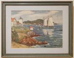 Watercolor (1896-1971) by Yngve Edward Soderberg