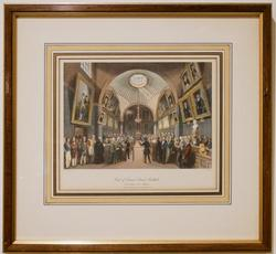 Chromolithograph of the Court of Common Council