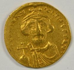 High Grade Byzantine Gold Solidus of Constans II 641-668