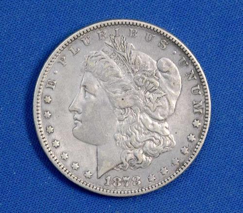 1878 7TF  Rev of 78 Morgan Silver Dollar Circulated