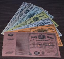 7 Diff. Internal Revenue Liquor Licenses 1879 to 1885.