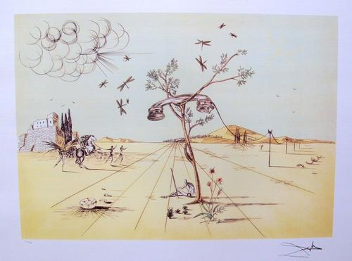 Salvador Dali, Disembodied Telephone