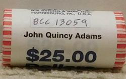 2008 John Quincy Adams Presidential Dollar Roll (25)