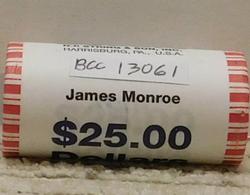 2008 James Monroe Presidential Dollar Roll (25)