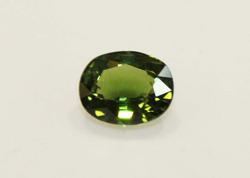 Vivid Natural Green Tourmaline - 1.36 cts.