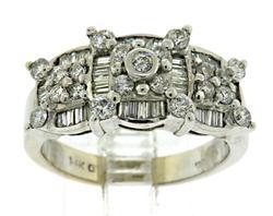 Stunning White Gold Diamond Ring