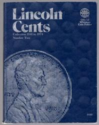 Set of Lincoln Wheat Cents 1941-1958-D in Album