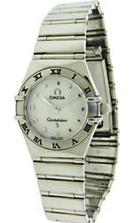 Ladies Omega Constellation My Choice Diamond Watch