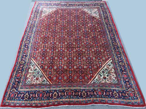 Highly Intricate Design 1960s Authentic Handmade Vintage Persian Rug