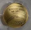 PR69DCAM 2014-W $5.00 Baseball Hall of Fame - PCGS Graded