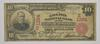 1902 $10.00 Charter #: E1324 Gallatin National Bank of NY Large Note