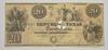 1840 $20.00 Republic of Texas Large Size Horseblanket Note