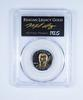 PR70 DCAM 2016 Cook Islands $50 Ronald Reagan Legacy Gold Graded PCGS
