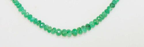 Sublime Natural Emerald Necklace
