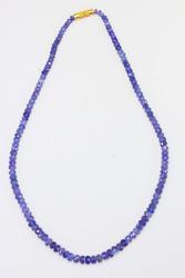 Handsome Natural Tanzanite Necklace