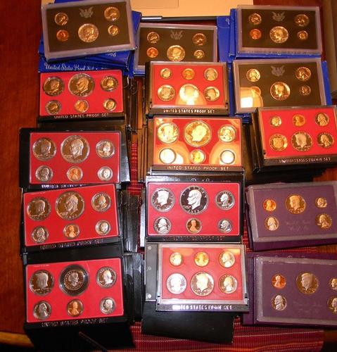 DEALER Lot: 100 US Proof Sets - Mixed Years