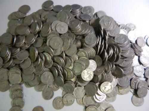 4000 - Buffalo Nickels - Dateless