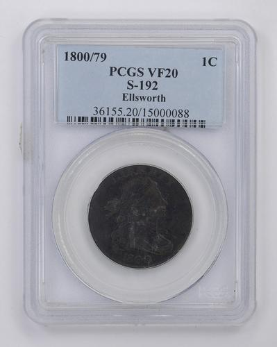 1800/79 Draped Bust Large Cent - PCGS Graded