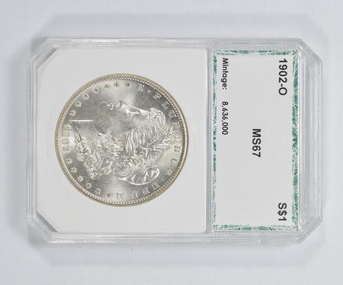 MS67 1902-O Morgan Silver Dollar - PCI Graded