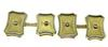 Fabulous 18K Gents Cuff Links with Diamond Accents