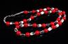 Red Coral Tibetan Beads Necklace