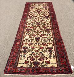 Mid Century Authentic Hand Woven Vintage Persian Tafshanjian