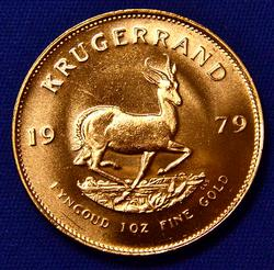 1oz Fine Gold 1979 South African Kruggerand