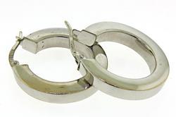 Minimalist 14kt Hoop Earrings