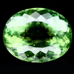 Vibrant 5.74ct untreated top green Apatite