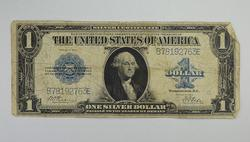 Series 1923 $1.00 Silver Certificate Large Size Horseblanket Note