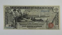 Series 1896 $1.00 Educational Silver Certificate Large Size Note