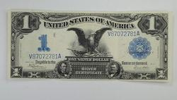 Series 1899 $1.00 Black Eagle Silver Certificate Large Size Note