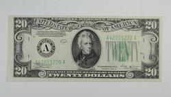 Series 1934-B $20.00 Boston, MA Federal Reserve Note