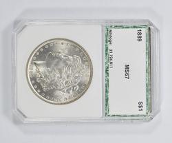 MS67 1889 Morgan Silver Dollar - PCI Graded
