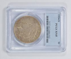 XF45 1934-S Peace Silver Dollar - PCGS Graded