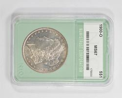 MS67 1900-O Morgan Silver Dollar - NTC Graded