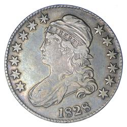 1828 Capped Bust Half Dollar - Circulated