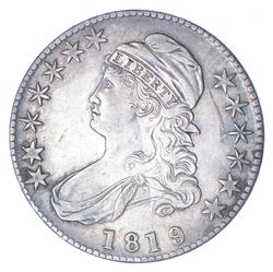 1819 Capped Bust Half Dollar - Large 9 - Near Uncirculated