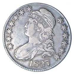 1827 Capped Bust Half Dollar - Circulated