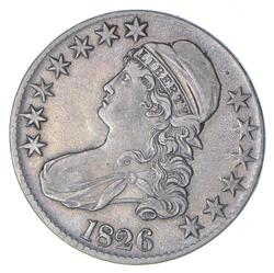 1826 Capped Bust Half Dollar - Circulated