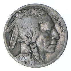 1921-S Indian Head Buffalo Nickel - Circulated