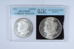 MS65 DMPL 1883 Morgan Silver Dollar - Graded INS